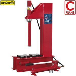Prensa Hidraulica con marco tipo C